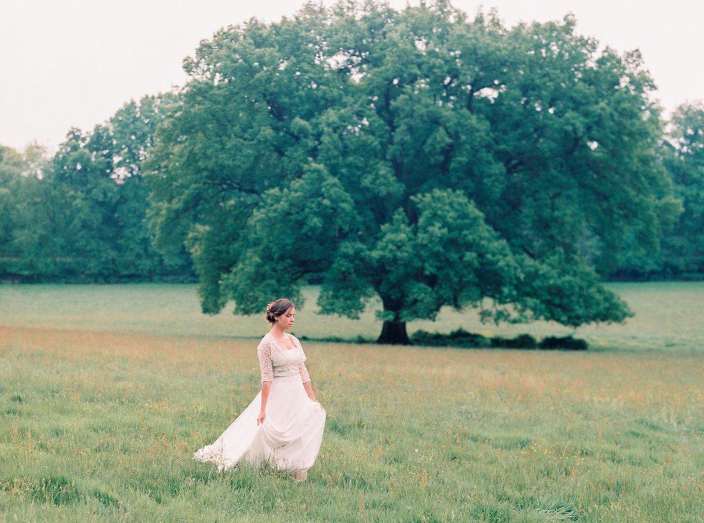 bruidsjurk romantisch