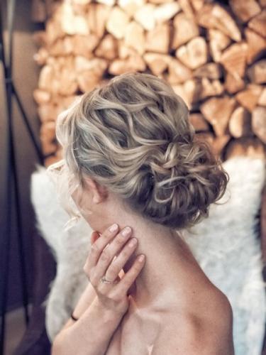 bruidskapsel nonchalant